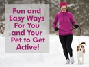Stay Active with Your Pet!