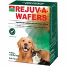 Sun Chlorella Rejuv-a-Wafers Superfood Supplement for Dogs & Cats (60 Wafers)