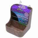 Super Pet Hay n Food Bin Feeder with Quick Locks