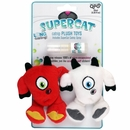 SuperCat Plush Yetis with Catnip Spray