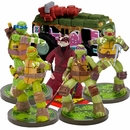 Teenage Mutant Ninja Turtles, Splinter & Van Aquarium Ornament Set