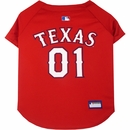 Texas Rangers Dog Jerseys