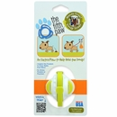 The Fifth Paw - Hands Free Poop Bag Carrier Leash Attachment (Lime)