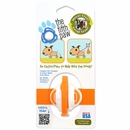 The Fifth Paw - Hands Free Poop Bag Carrier Leash Attachment (Tangerine)