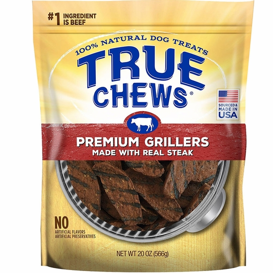 True Chews Premium Grillers - Made with Real Steak (20 oz)