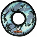 Tuffy's Jr Ring Blue Camo Dog Toy
