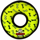 Tuffy's Ultimate Ring Yellow Bones Dog Toy