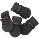 Ultra Paws Durable Dog Boots Black - Large