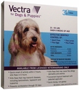 Vectra for Dogs 21 to 55 lbs - 3 Doses