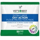 "Vet's Best Extra Large OXY ACTION Floor Protection Pads 26"" x 30"" (50 pads)"