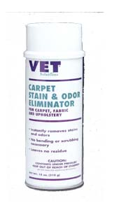 vet solutions carpet stain odor eliminator 18oz. Black Bedroom Furniture Sets. Home Design Ideas