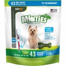 VetIQ Minties Dental Treats - Tiny 12 oz (43 count)
