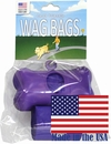 Wag Bags Dispenser Bone PURPLE (30 Bags)