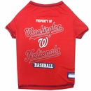Washington Nationals Dog Tee Shirt - Medium