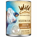 Wild Calling Western Plains Canned Dog Food - Beef (13 oz)