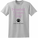 Women's T-Shirt - Sweetest Human Ever - Small (Ash)