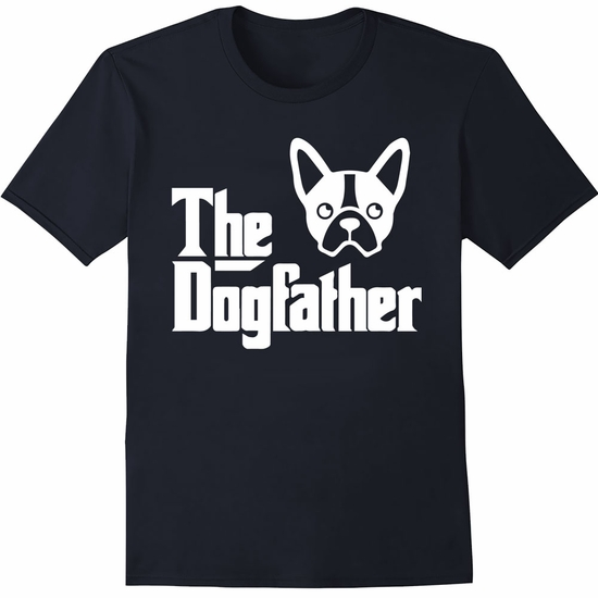 Women's T-Shirt - The Dogfather - Large (Black)