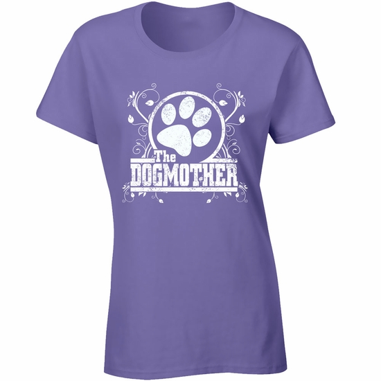 Women's T-Shirt - The Dogmother - Small (Lilac)
