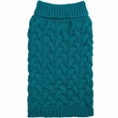 Zack & Zoey Elements Chunky Cable Sweater - Blue (Small)