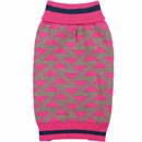 Zack & Zoey Elements Geometric Sweater - Pink (XSmall)