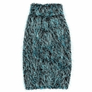 Zack & Zoey Elements Hairy Yarn Sweater - Blue (Small)