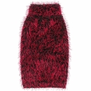 Zack & Zoey Elements Hairy Yarn Sweater - Red (XSmall)