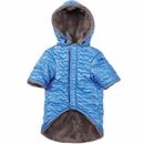 Zack & Zoey Elements Quilted Hearts Jacket - Blue (Small)