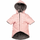 Zack & Zoey Elements Quilted Hearts Jacket - Pink (Medium)