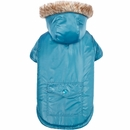 Zack & Zoey Elements Reversible Thermal Parka - Blue (Medium)