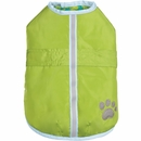 Zack & Zoey Hairy Yarn Thermal Nor'easter Coat - Green (Medium)