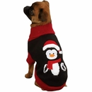 "Zack & Zoey Holiday Penguin Sweaters - XXS (8"")"