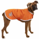 Zack & Zoey Nor'easter Dog Blanket Coat - Orange (Small)