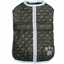 Zack & Zoey Quilted Thermal Nor'easter Coat - Green (Large)