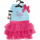 Zack & Zoey Sparkle Flamingo Dress - XXSmall