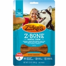 Zukes Z-Bones Edible Dental Chews Regular Clean Carrot Crunch - 8 ct (12 oz)