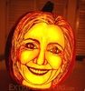A Crooked Hilary Pumpkin