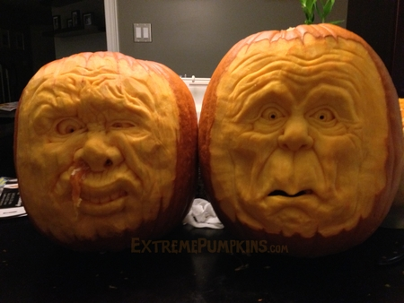 Ammon and Ryan Bundy Pumpkins