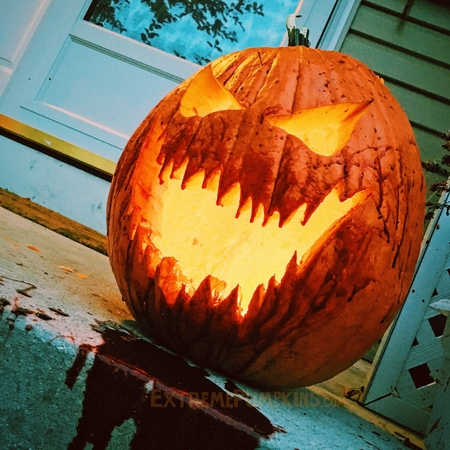 Bloody Mouthed Pumpkin