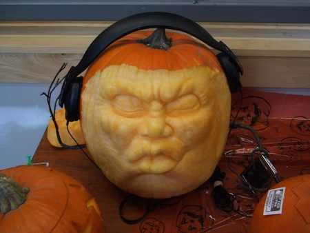 Headphones Pumpkin