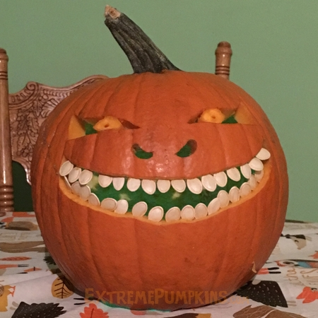 Pumpkin Seed Teeth