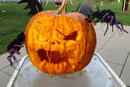 Spikey Pirate Pumpkin