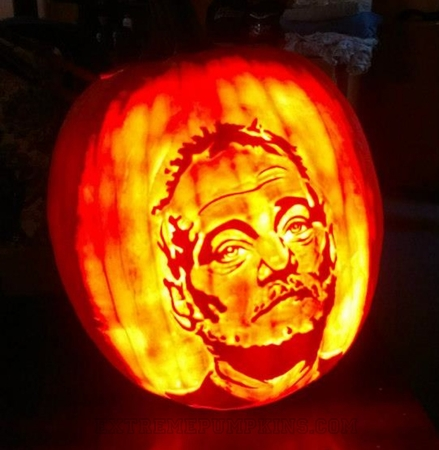 The Bill Murray Pumpkin