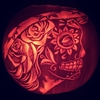 The Day of the Dead Pumpkin
