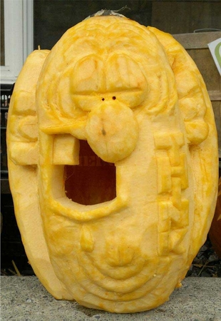 The Don Martin of Mad Magazine Pumpkin