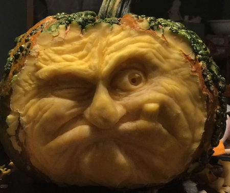 The Grumpy Pumpkin