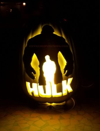 The Hulk Pumpkin