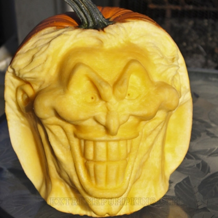 The Joker Pumpkin