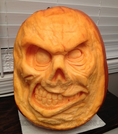The Loose Lips Pumpkin