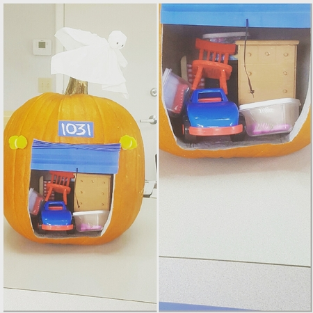 The Storage Locker Pumpkin