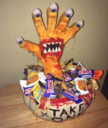 "The ""Take One"" Pumpkin"
